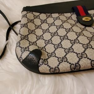 Gucci Bags - Gucci Webby GG Logo Canvas Leather Cross body